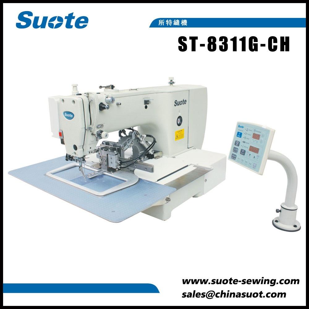 Elektroonilise märgistusega muster õmblusmasin